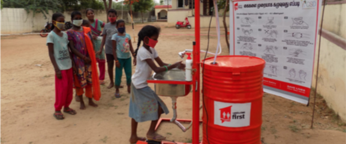 Covid19 Call to Action - Enabling handwashing among the world's poorest communities