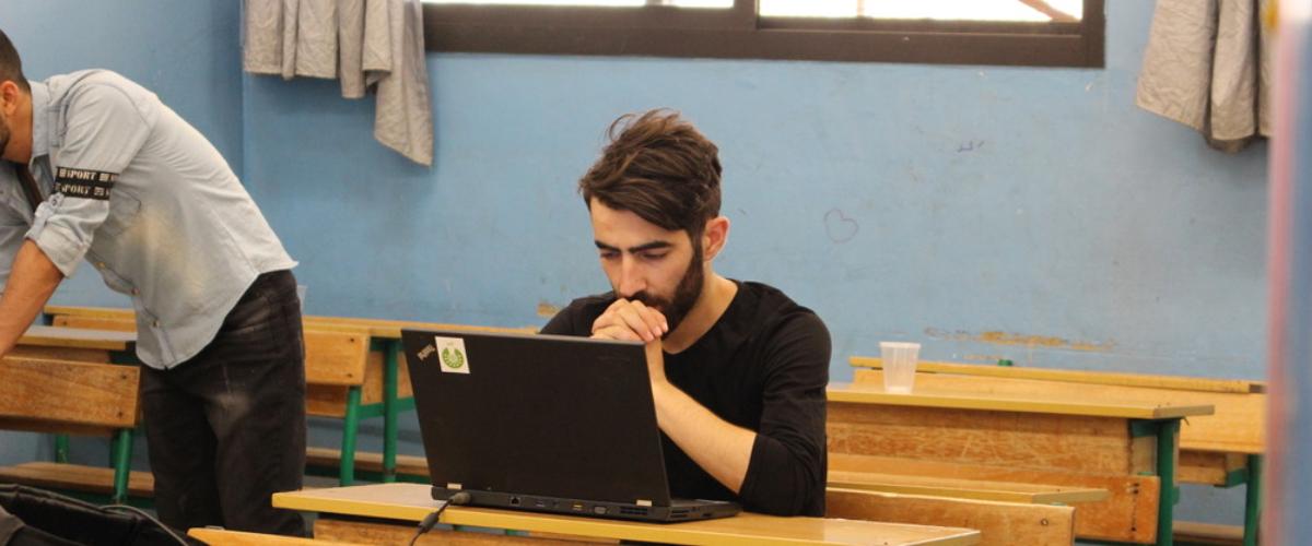 Helping 200 refugees reach university