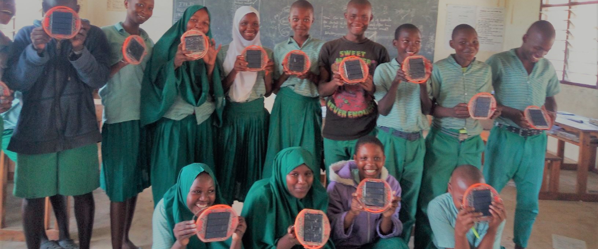 Help Kenyan kids catch up their education after Covid - donate a set of portable solar lights to a rural school this Christmas!