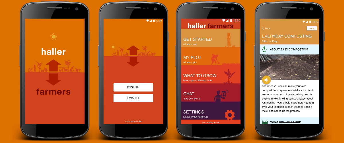 Scaling up Haller's impact in West Africa through mobile technology