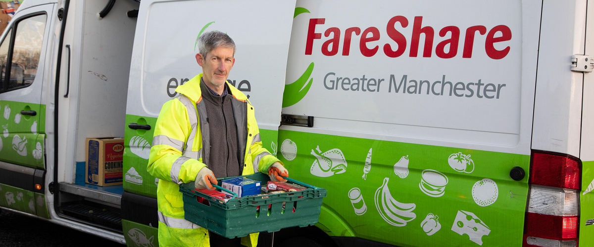 Fighting food waste and food poverty across Greater Manchester