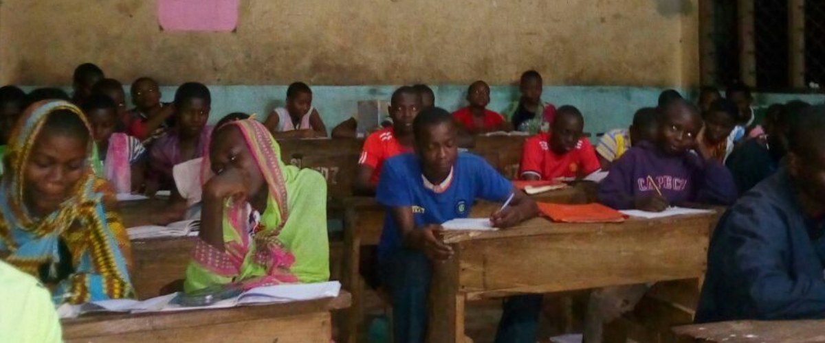 Light up a classroom in Kenya with solar power - and help children complete their education